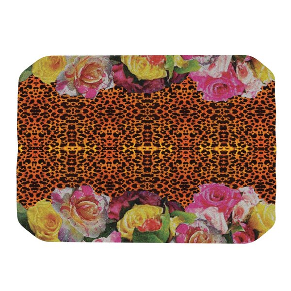 New Rose Eleo Placemat by KESS InHouse