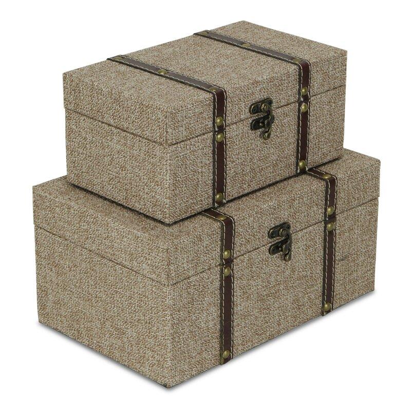 Backus 2 Piece Decorative Box Set