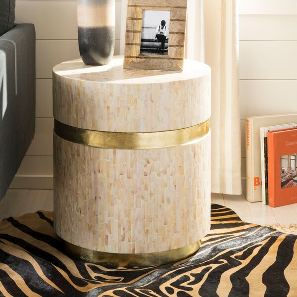 Heide Mosaic End Table by Mercer41