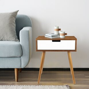 Balderas End Table with Storage