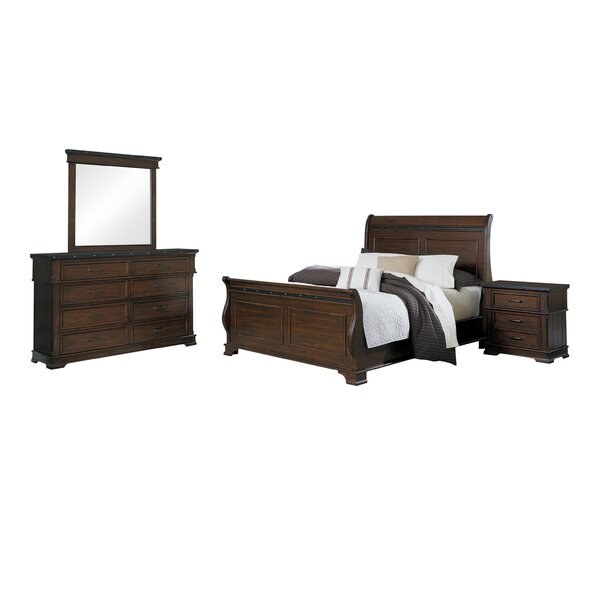 Donnelly Sleigh Configurable Bedroom Set by Millwood Pines