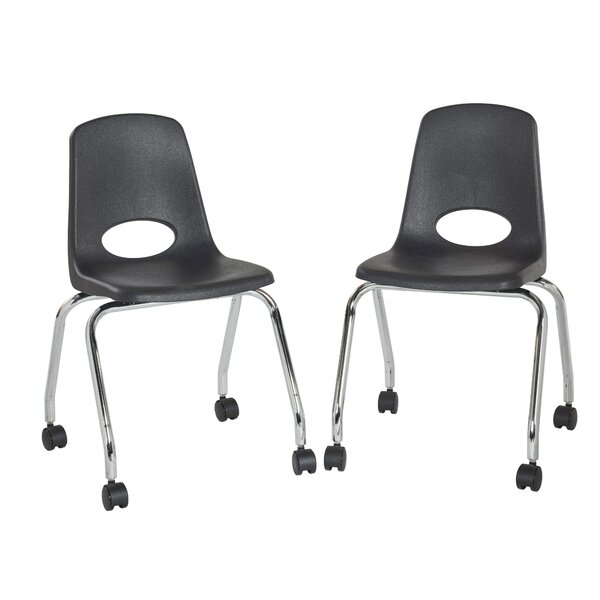 18 Plastic Classroom Chair (Set of 2) by ECR4kids