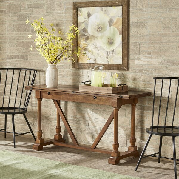 Canora Grey White Console Tables
