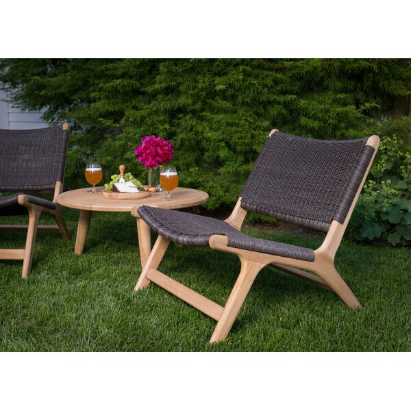 Timmerman Teak Patio Chair (Set of 2) by Mistana Mistana