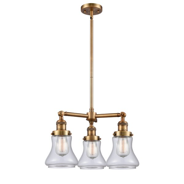 Nardone 3-Light Shaded Classic / Traditional Chandelier by Beachcrest Home Beachcrest Home