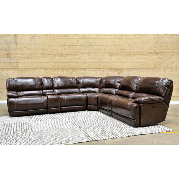 Read Reviews Dambrosio Right Hand Facing Reclining Sectional
