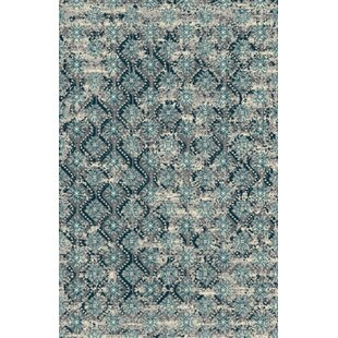 Fusion Turquoise/Silver Indoor/Outdoor Area Rug By Rug Factory Plus