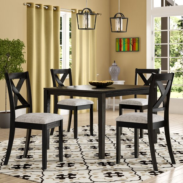 Zaftig Transitional 5 Piece Dining Set by Laurel Foundry Modern Farmhouse