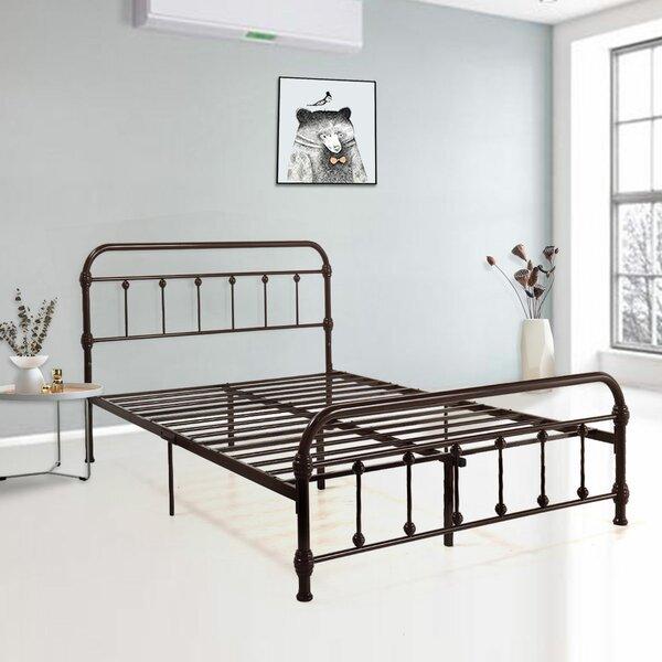 Imkamp Metal Platform Bed Charlton Home W000562136