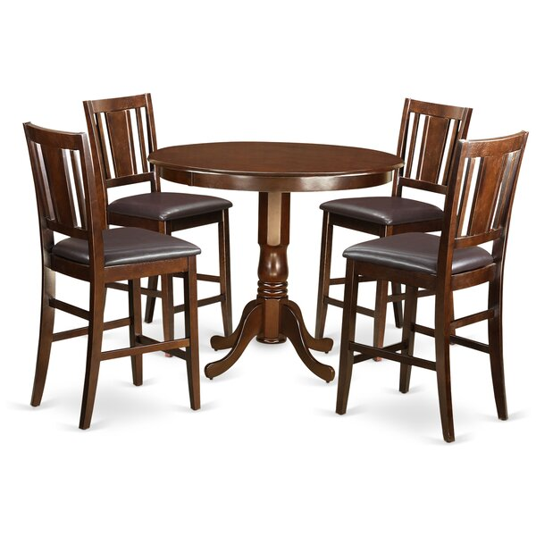 Looking for Trenton 5 Piece Counter Height Pub Table Set By Wooden Importers 2019 Sale