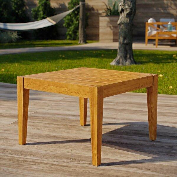 Dowell Teak Side Table by Breakwater Bay