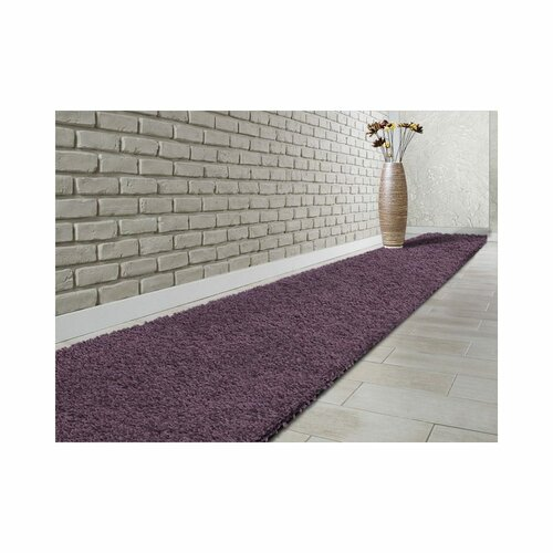 Equinox Tufted Purple Rug Ebern Designs Rug Size: Runner 240