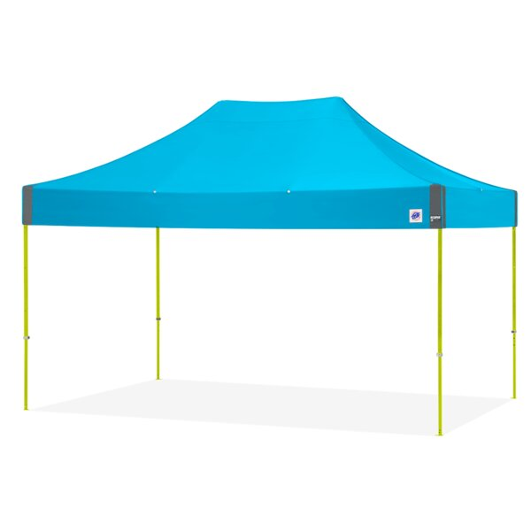 Eclipse 10 Ft. W x 15 Ft. D Steel Pop-Up Canopy by E-Z UP