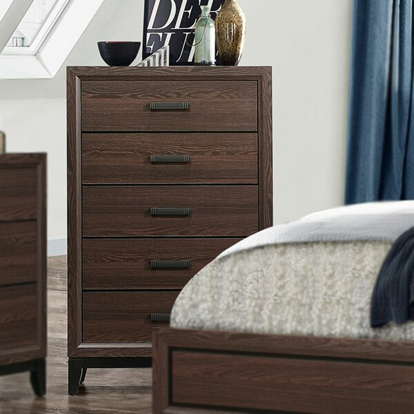 Downing 5 Drawer Chest by Union Rustic