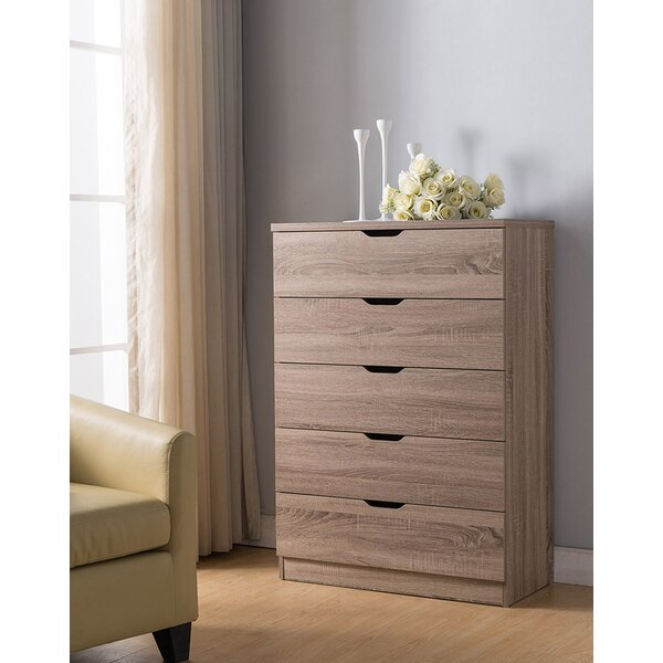 Utility 5 Drawer Chest by Ebern Designs