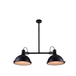 2-Light Kitchen Island Pendant  sc 1 st  Wayfair & 2 Light Pendants Youu0027ll Love | Wayfair