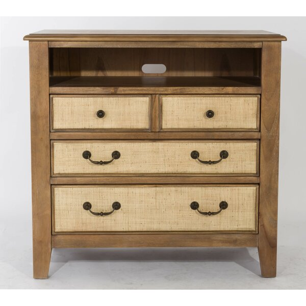 Linen 3 Drawer Media Chest by Panama Jack Home