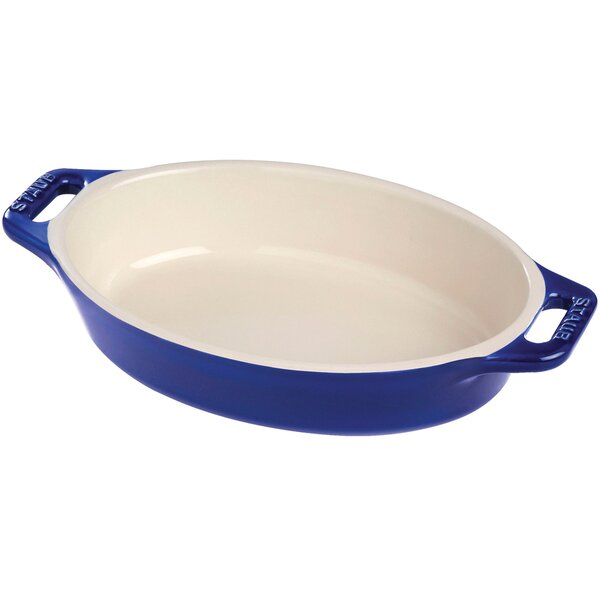 Oval Ceramic Baking Dish by Staub