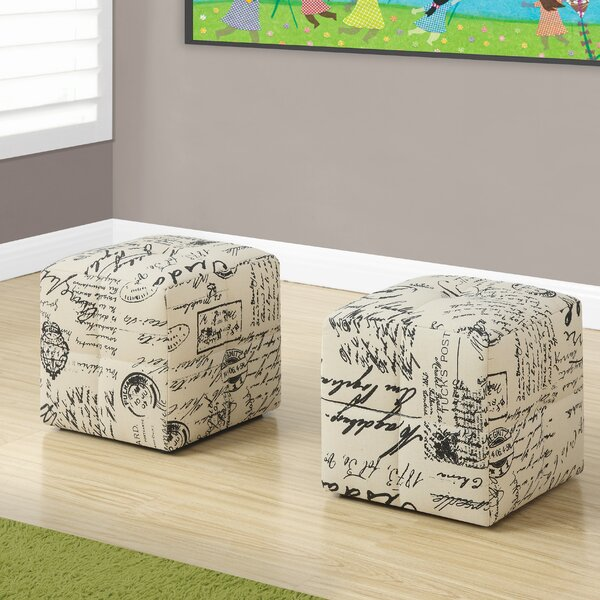 Pellot Vintage French Ottoman (Set of 2) by Three