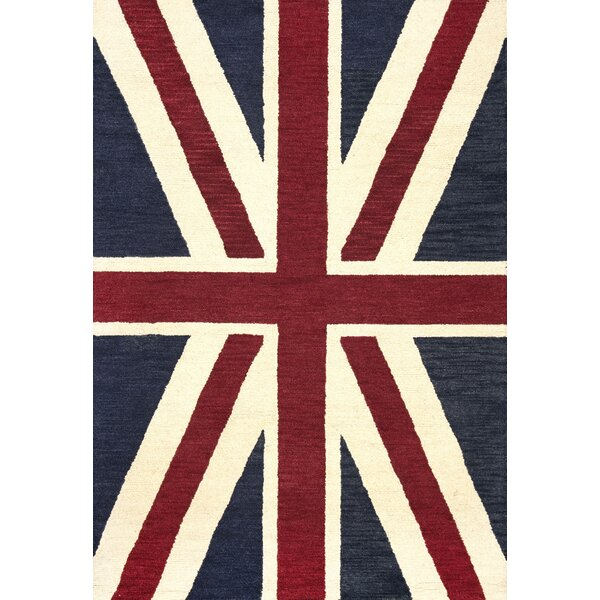 San Miguel Denim Union Jack Rug by nuLOOM