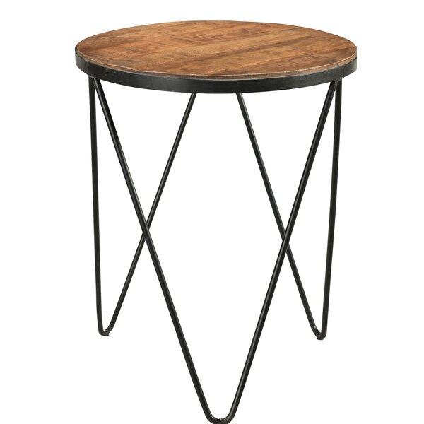 Hankins End Table by Union Rustic
