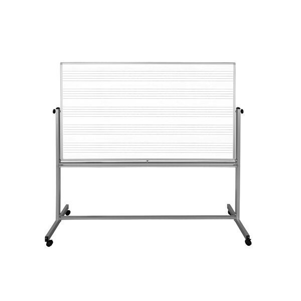Free Standing Whiteboard by Luxor