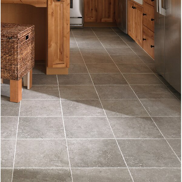 Adelphia Glazed 20 x 20 Porcelain Field Tile in Bruno by Mohawk Flooring