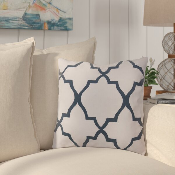 Broome and Lavish Lattice Indoor/Outdoor Throw Pillow