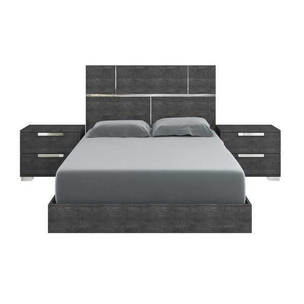 Milo Platform Bed by Casabianca Furniture