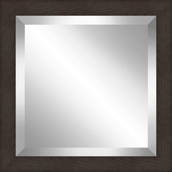 1.875 Frame Square Beveled Plate Accent Mirror by Orren Ellis