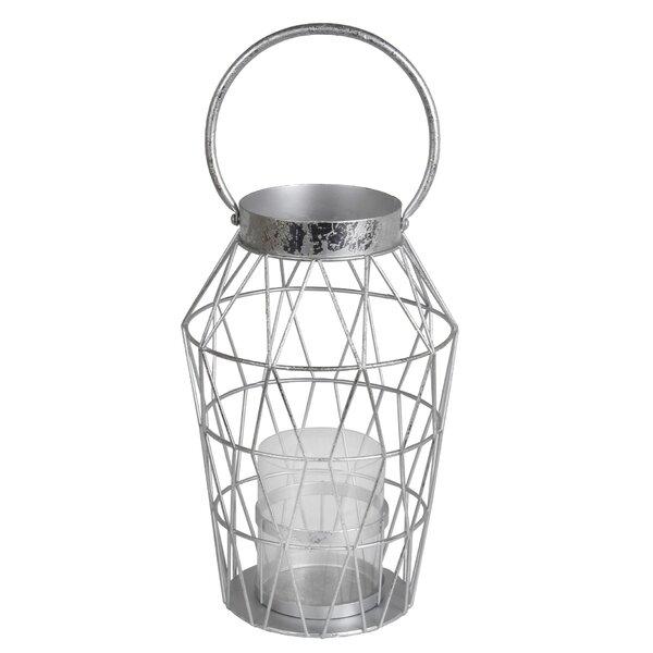 Metal/Glass Lantern by Brayden Studio