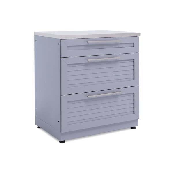 Outdoor Kitchen 3-Drawer Cabinet by NewAge Products