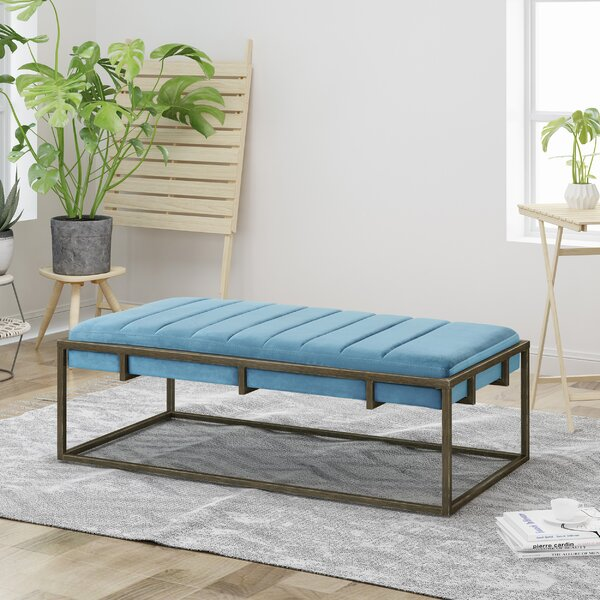 Callison Metal Bench By Ivy Bronx by Ivy Bronx Modern