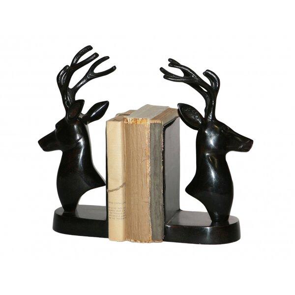 Deer Bookends by Loon Peak