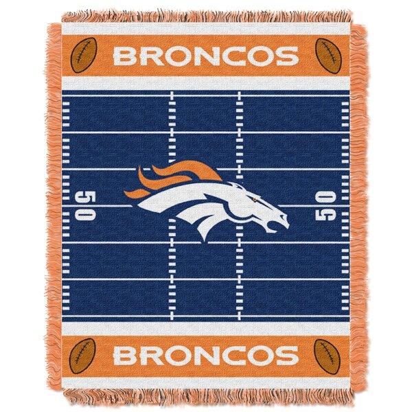 NFL Broncos Field Baby Blanket by Northwest Co.