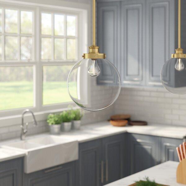 Cayden 1-Light Pendant by Zipcode Design