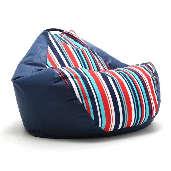 Big Joe Outdoor Teardrop Cozumel Stripe Bean Bag Chair by Comfort Research