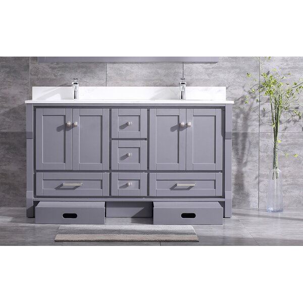 Swatzell 60 Double Bathroom Vanity Set by Winston Porter