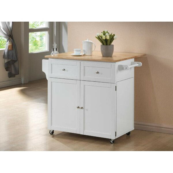 Miranda Zsoka Kitchen Cart by Charlton Home