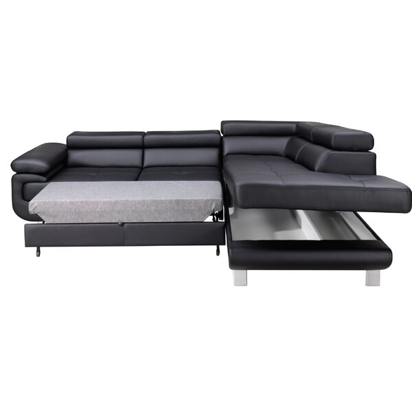 Review Shirly Right Hand Facing Sleeper Sectional