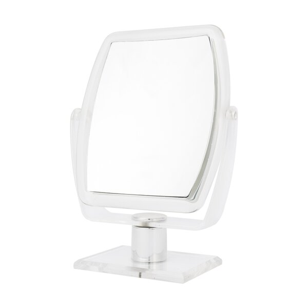 Mcgary 10x Magnify Oblong Makeup Mirror by Latitude Run
