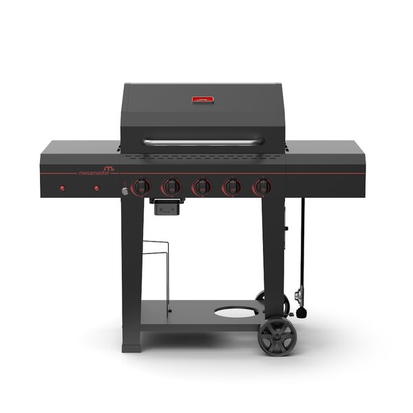 5-Burner Propane Gas Grill - 720-0982 by Megamaster