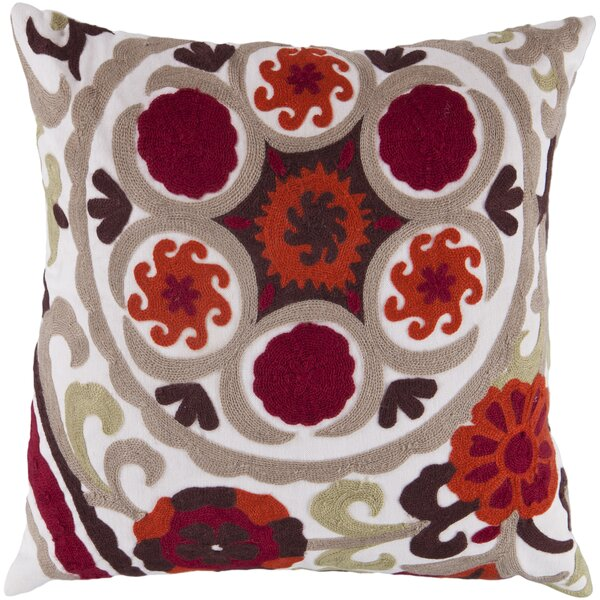 Neva Throw Pillow Cover by Latitude Run