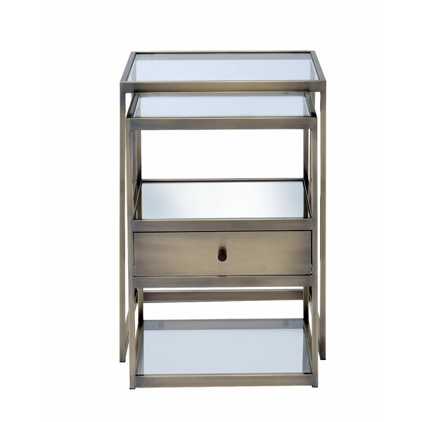 Yang 1 Drawer Nightstand by Ebern Designs