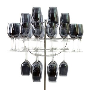 Chandelier Tabletop Wine Glass Rack by Ten Strawberry Street