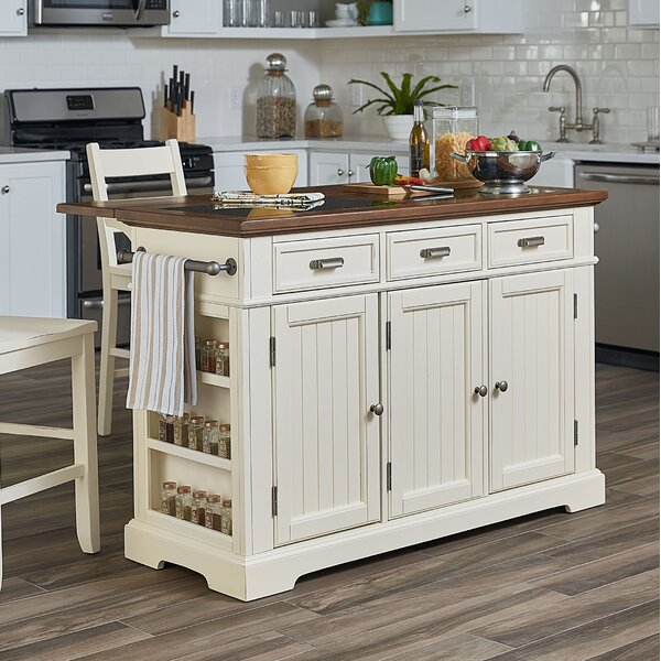 Hewson Kitchen Island by August Grove
