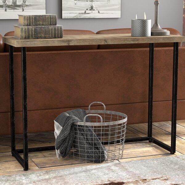 Harva Parquet Console Table by Trent Austin Design