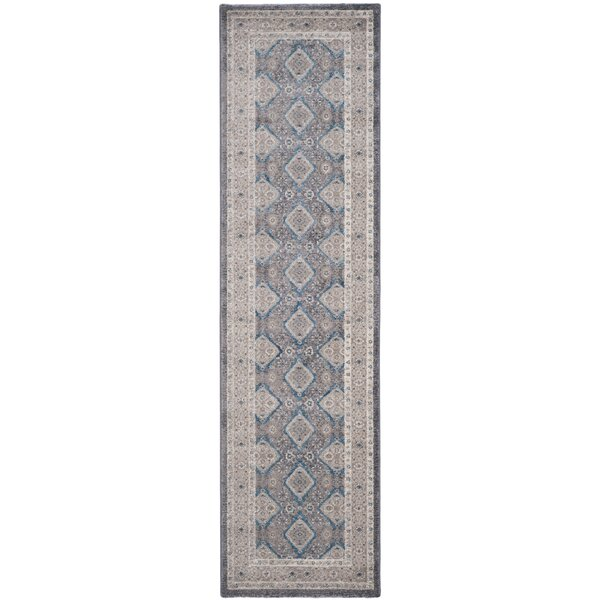 Bristol Woods Gray/Beige Area Rug by Charlton Home