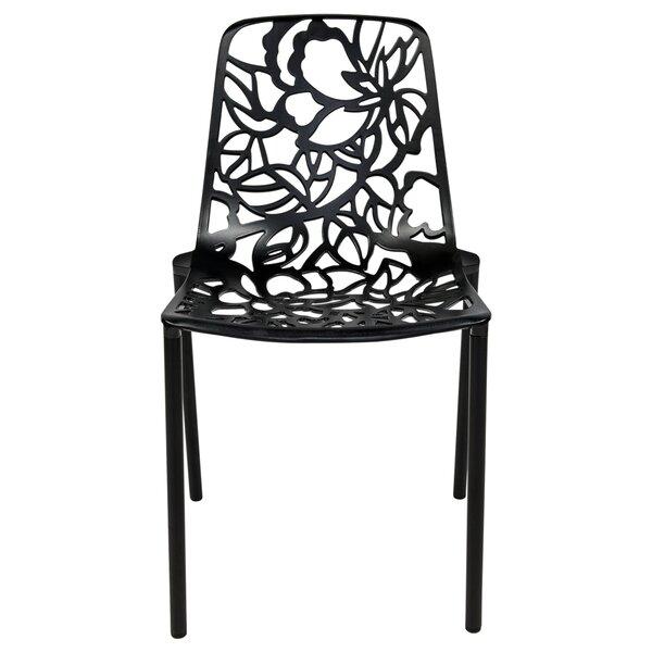 Rabia Patio Dining Chair (Set of 4) by Brayden Studio Brayden Studio