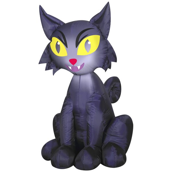 Outdoor Scary Cat SM Inflatable by The Holiday Aisle